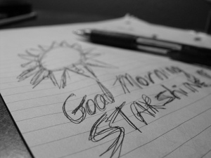 morning pages - good morning - writing for success
