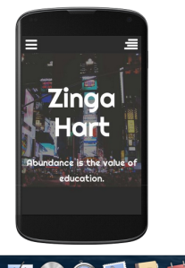 ZIngahart.com abundance is the value of education