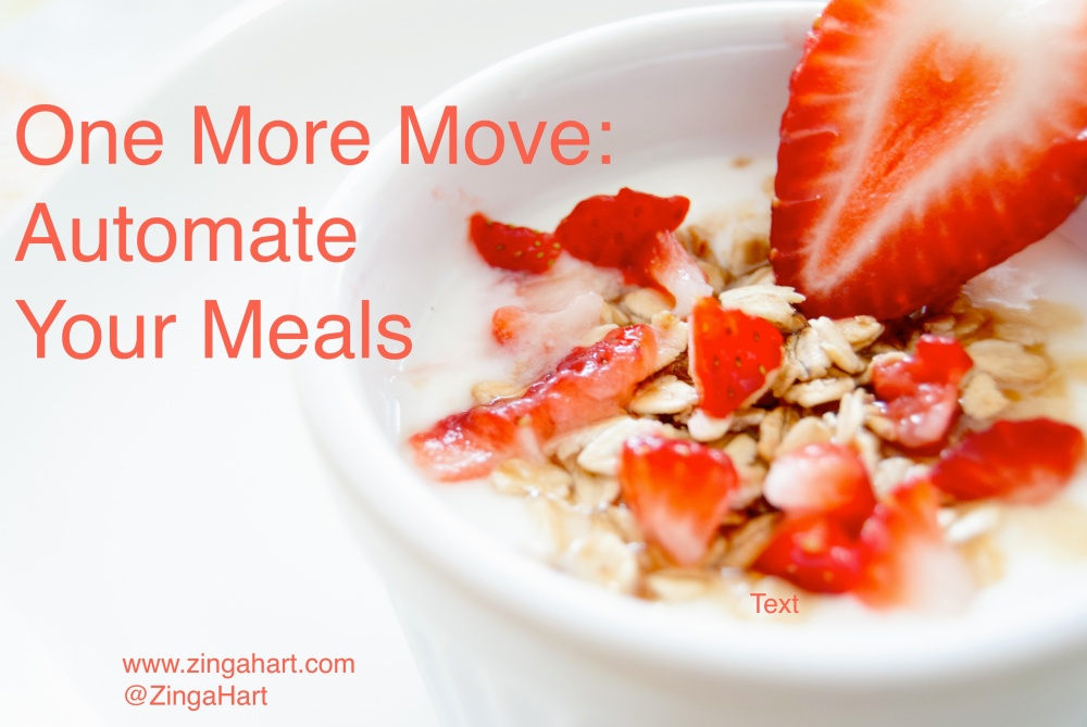 automate your lunches - could include healthy yogurt and granola recipe
