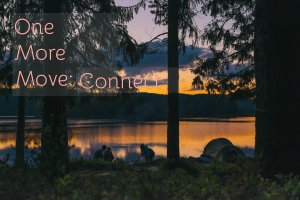 friends connecting by a campsite like one would find in northeast ohio especially if you were on a retreat and wanted to connect with your leadership team