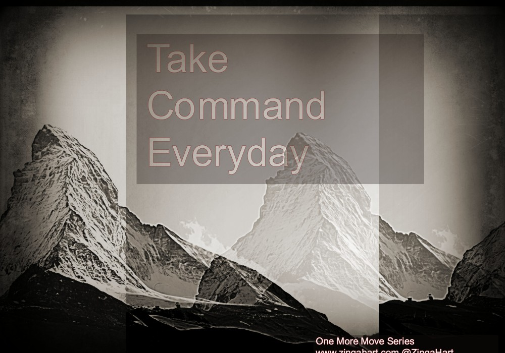 One More Move @ZingaHart take command of your life like this mountain peak using the computer hack described in the article at zingahart.com