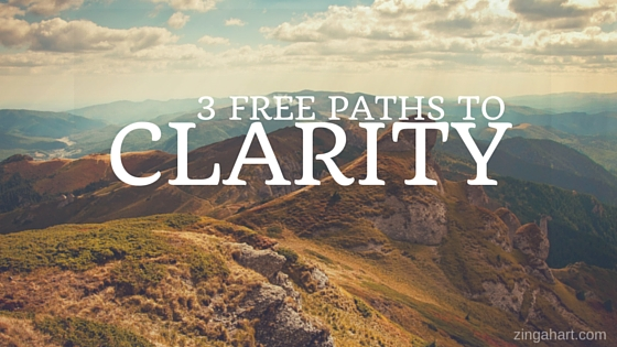 3 free paths to clarity