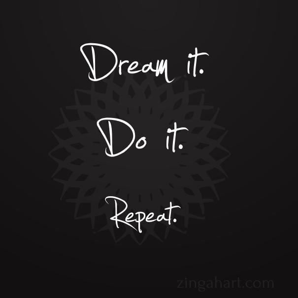 dream motivational quotes zinga