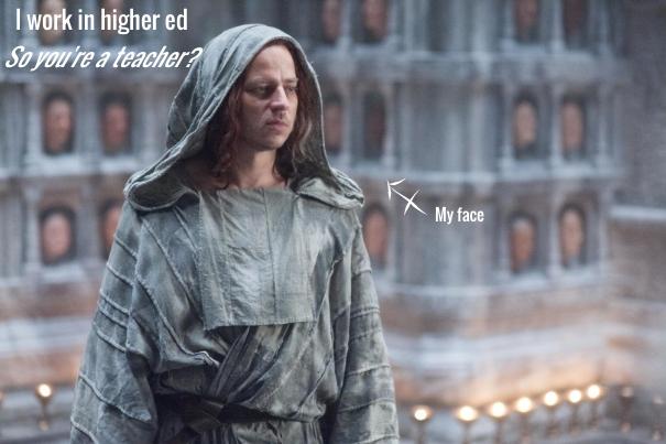 zinga hart higher education winter is coming joke